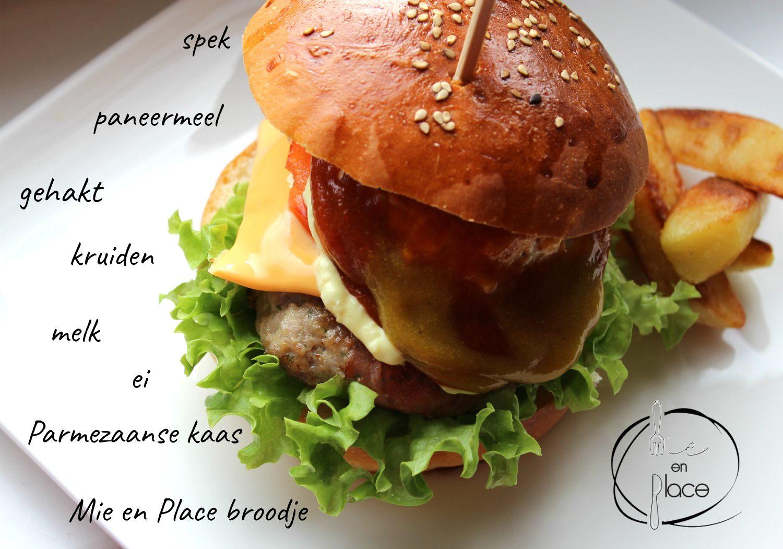 Mie en Place burger