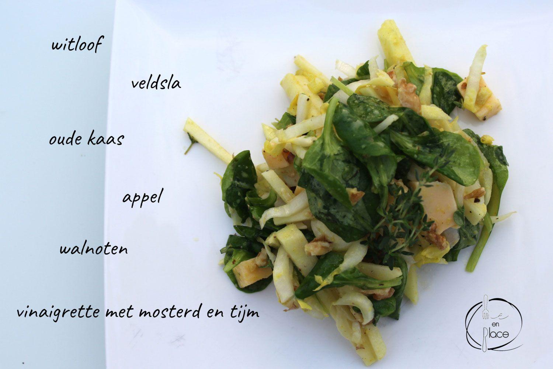 Witloofsalade met kaas