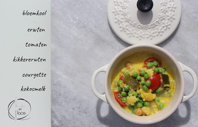 Gele veggie curry