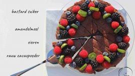 Mie en Place chocoladetaart met amandelmeel (2)