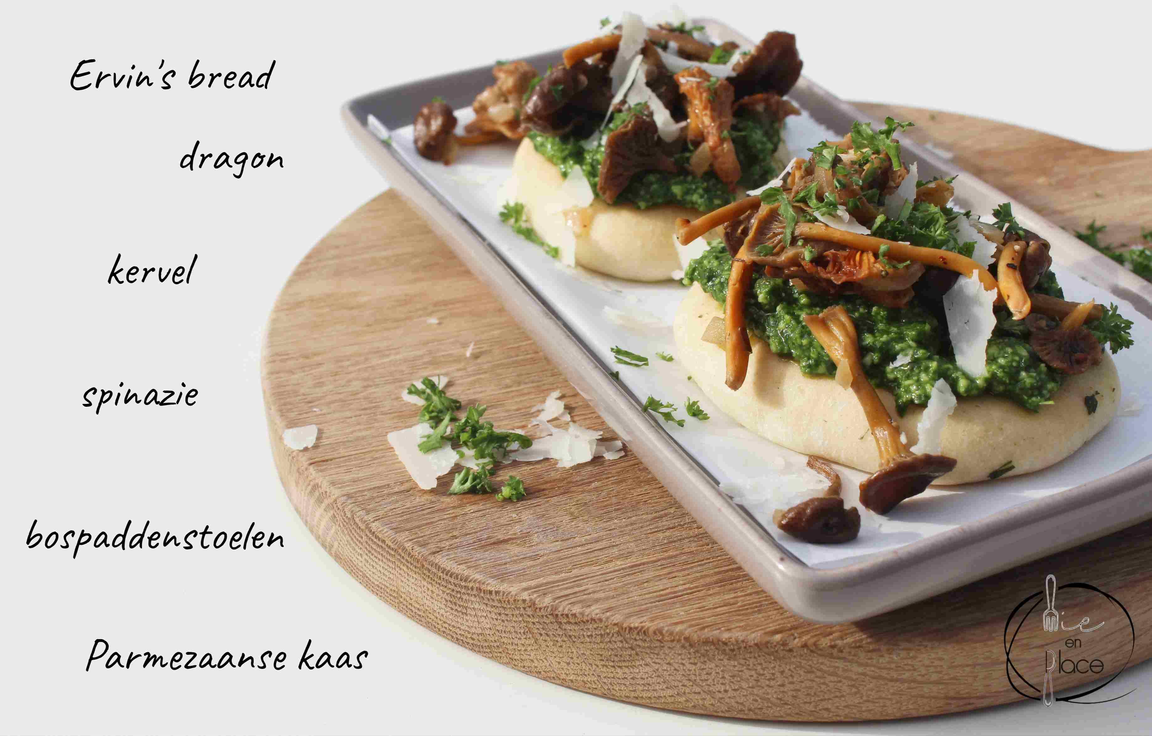 Toast champignon nieuwe stijl
