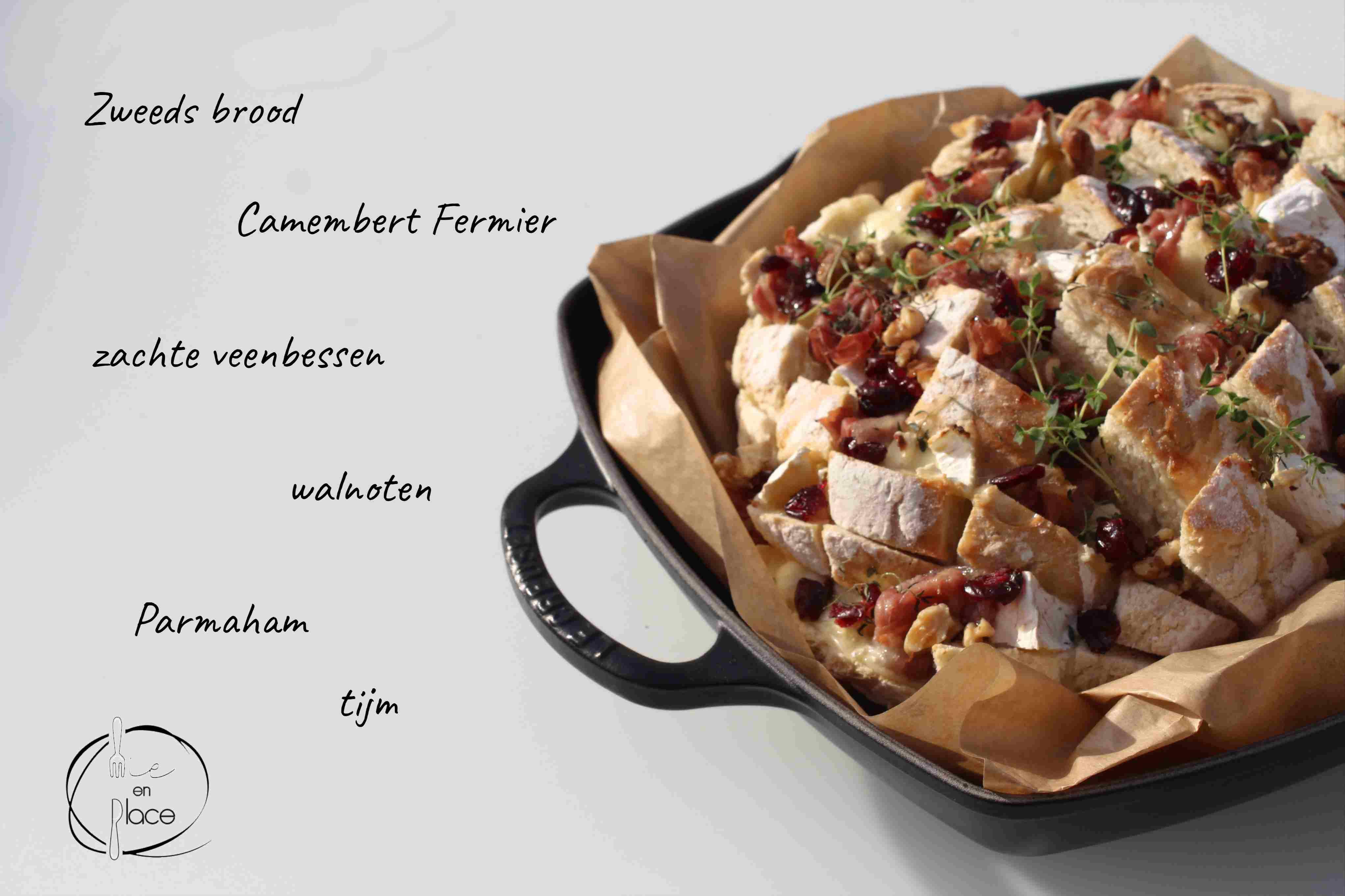 Plukbrood met Camembert