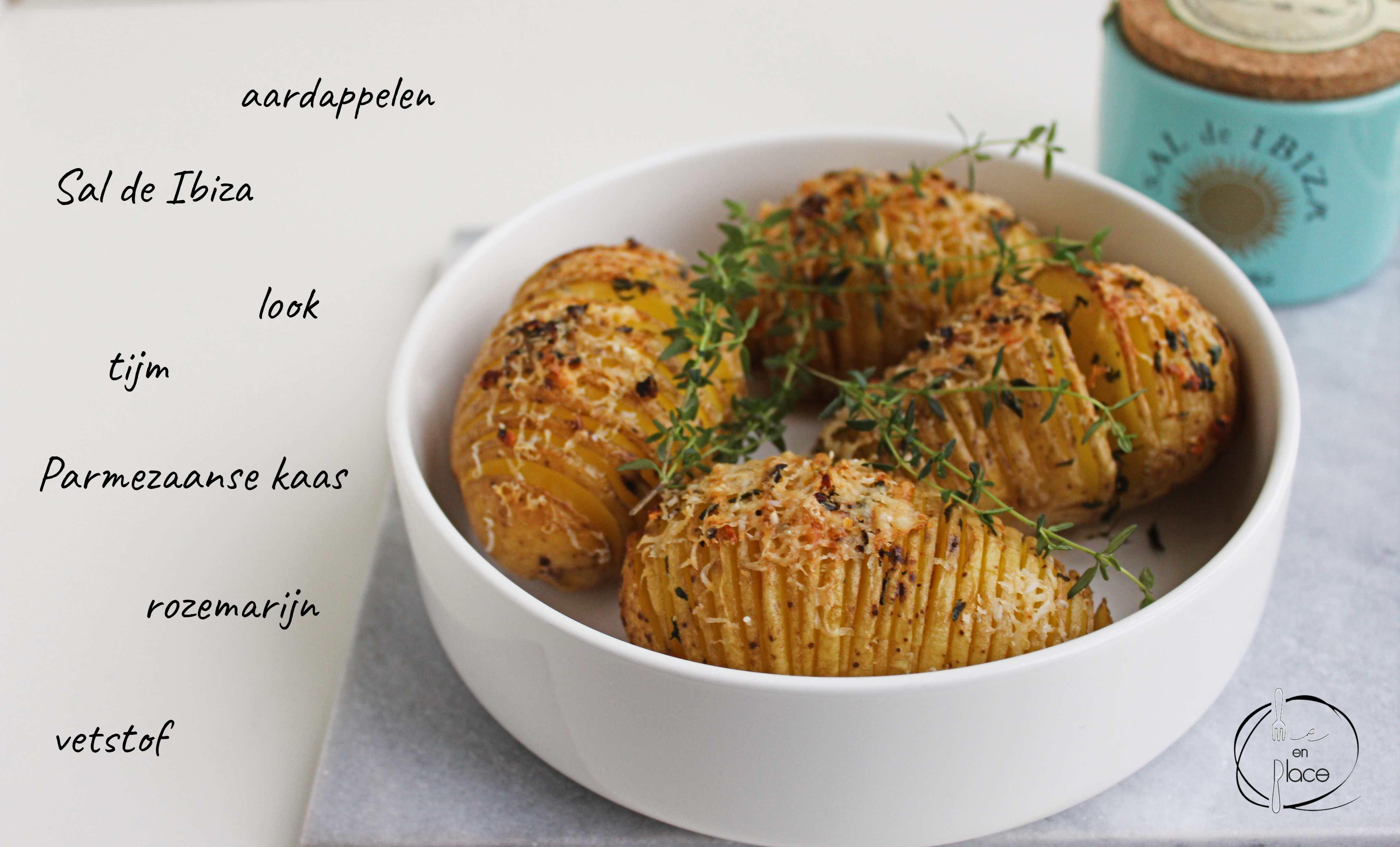 Aardappel Hasselback