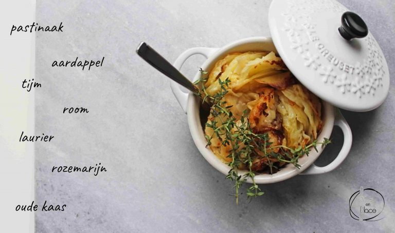 Mie en Place aardappel pastinaak gratin